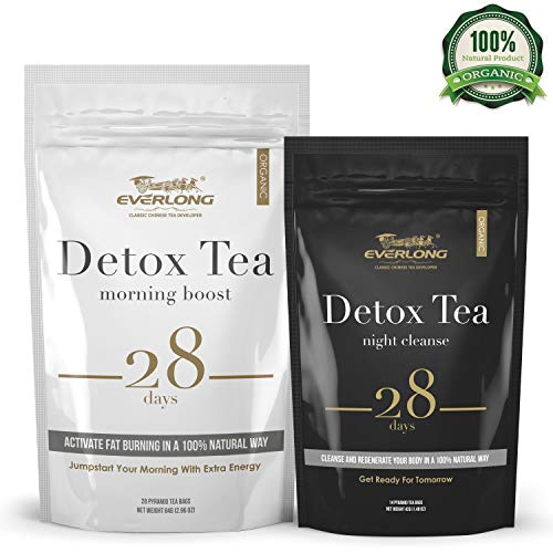 Detox Tea 28 Day Ultimate Teatox – Burn Fat and Boost Your Energy, Colon Cleanse, Restore Your Body Natural Balance and Accelerate Weight Loss – with Bonus Digital Welcome Guide