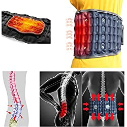 Cordless Heated Back Brace for Back Pain Relief, Waist Warm