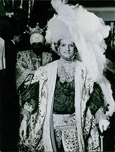 Carnival Costumes Rio (Vintage photo of Men in costume at the Rio Carnival)