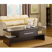 Metro Shop Furniture of America Tepekiie Two-side Open Coffee Table