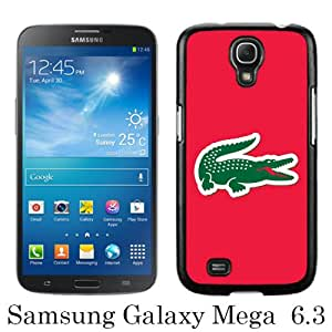 Lovely And Unique Designed Case For Samsung Galaxy Mega 6.3 I9200 With Lacoste 4 Black Phone Case