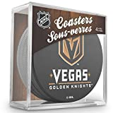 Inglasco NHL Vegas Knights Puck Coasters Pack