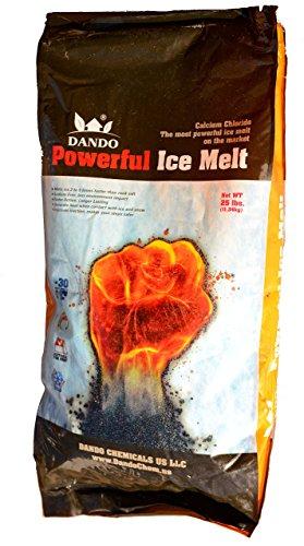 DANDO 25 lbs. Powerful Ice Melt by DANDO