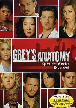 Amazon Greys Anatomy Stagione 04 5 Dvd 2013 Shonda