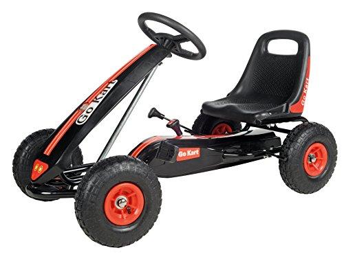 GO KART 52780 - Aufsitz-Spielzeug Ideal für Extreme Off-Road Kartsport, rot/schwarz