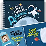 Space Activity Book For Kids: WHEN I GROW UP I WILL BE AN ASTRONAUT - Let's Write the Future with This Memory Book of Dreams. Developmental Gifts for Children, Kids' Astronomy, Back to School Book