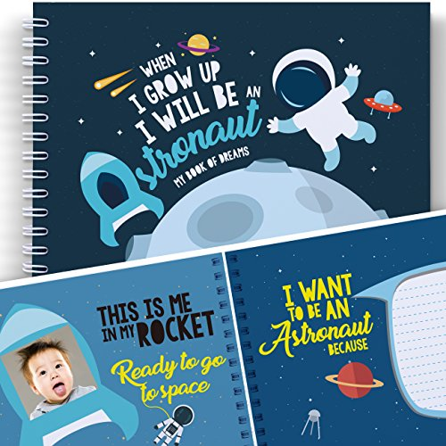 Space Activity Book For Kids: WHEN I GROW UP I WILL BE AN ASTRONAUT - Let's Write the Future with This Memory Book of Dreams. Developmental Gifts for Children, Kids' Astronomy, Back to School Book (Solar System Project Ideas For 5th Grade)