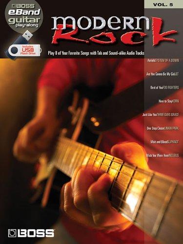 Modern Rock: Boss eBand Guitar Play-Along Volume 5