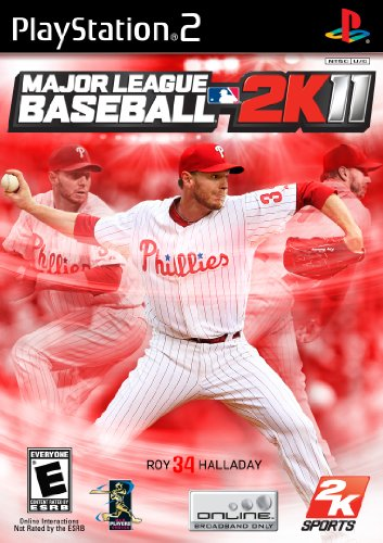 2011 Playstation 2 Game - Major League Baseball 2K11 - PlayStation 2