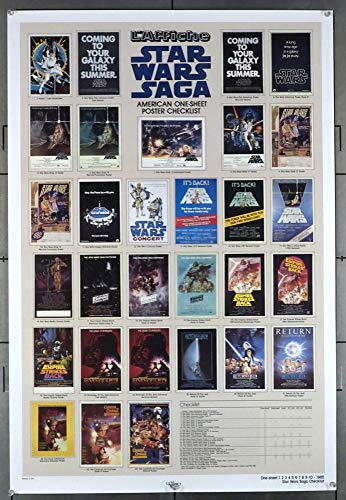 Star Wars: Episode IV - A New Hope (1977) Original Movie Poster KILLIAN ENTERPRISES COMMEMORATIVE POSTER OF 1985 NEAR MINT CONDITION !! ROLLED