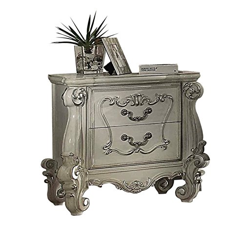 ACME Versailles Bone White Nightstand by Acme Furniture