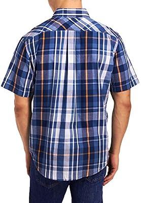 Levi's Men's Donnie Short Sleeve Button Plaid Shirt