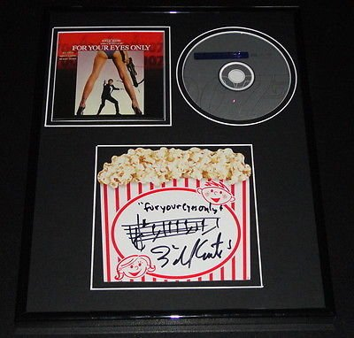 bill-conti-signed-framed-11x14-for-your-eyes-only-cd-music-display