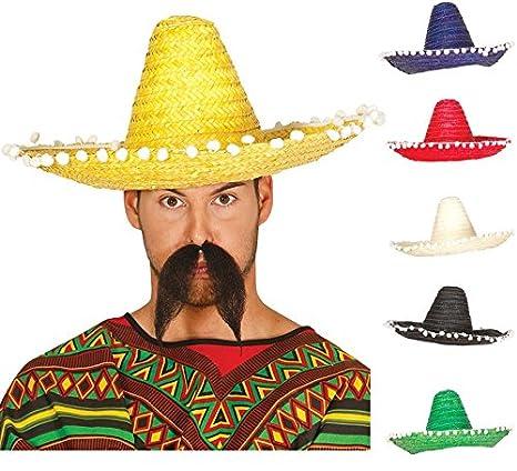 65b0bda1b7a73 Sombrero Mejicano 45cm Rojo - Sombreros