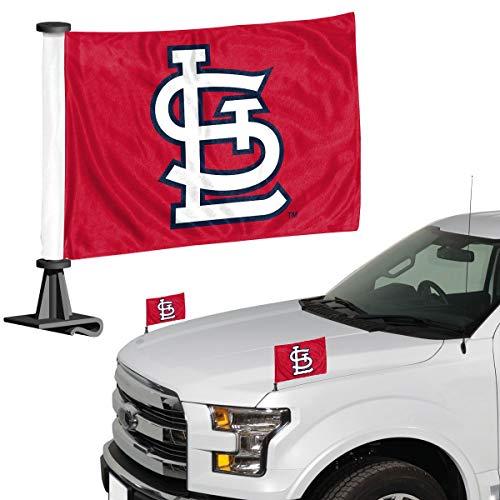 (ProMark MLB St. Louis Cardinals Flag Set 2Piece Ambassador Stylest. Louis Cardinals Flag Set 2Piece Ambassador Style, Team Color, One)