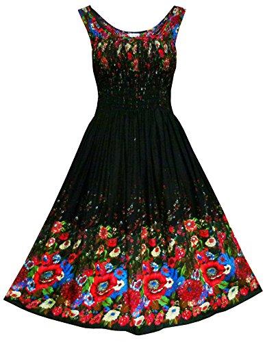 Dress Turquoise Smock - 9