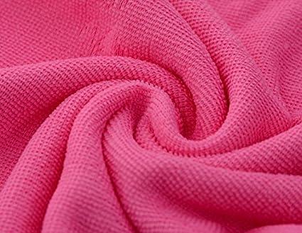 XXIN Lavado De Coche De Fibra Toallas Ultra-Delgados Car Wash Toalla Rosa Oscuro 30