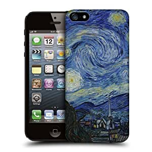 Case Fun Starry Night Snap-on Hard Back Case Cover for Apple iPhone 5 / 5S by icecream design