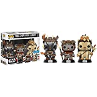 Funko POP Movies Star Wars Ewok 3 Pc. Teebo Chirpa & Logray