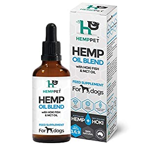 Hemp PET Hemp Oil Blend with Hoki Fish and MCT Oil for Dogs, 100 ml (HP_OHFd100) Click on image for further info.