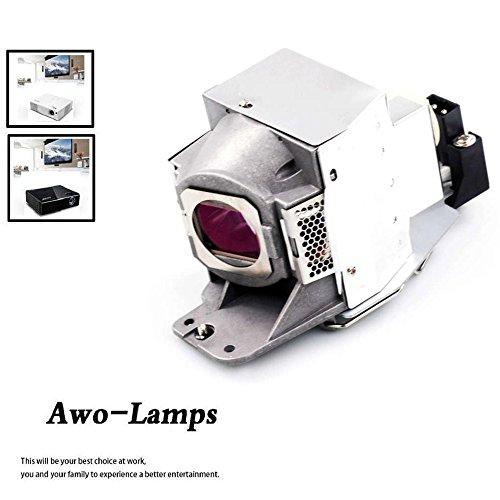 AWO 5J.J7L05.001 5J.J9H05.001 5J.J6E05.001 Premium Projector Replacement Lamp Bulb with Housing Fit for BenQ W1070 W1080ST HT1075 HT1085ST W1070+ W1080ST+ i700 MX662 MX720 by AWO