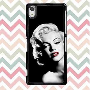 Protective Back Funda Carcasa Case For Sony Xperia Z2 Marilyn Monroe Quote Sony Xperia Z2 Vintage Case