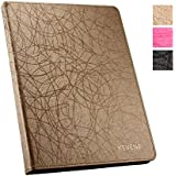 KEVENZ® Elegant Smart Covers For iPad 2/iPad 3/iPad 4 Case Cover - GOLDEN - K408
