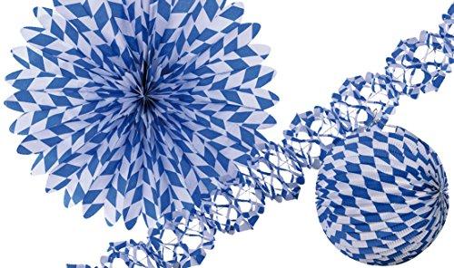 Amscan International Bavarian Paper Decoration Set -