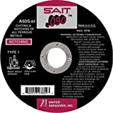 United Abrasives 6'' X .090'' X 7/8'' A60S 60 Grit Aluminum Oxide Type 1 Cut Off Wheel, Package Size: 25 Each