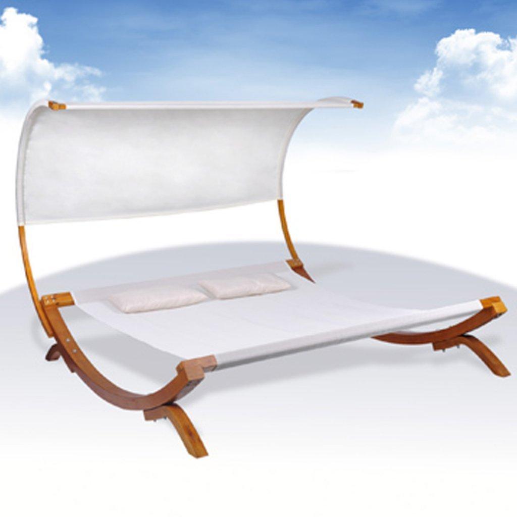 bain de soleil 2 personnes salon de jardin en teck. Black Bedroom Furniture Sets. Home Design Ideas