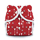 Thirsties Snap Duo Wrap - Straight to My Heart Size Two (18-40 lbs)