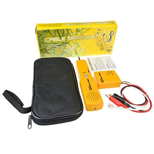 Tutoy Rj45 Cable De Red Probador De Continuidad De L/ínea Telef/ónica Cable Tracker Y Tester Wire Toner Tracer