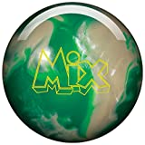 Storm Mix Urethane Bowling Ball- Green/White