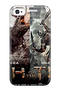 Iphone 4/4s Wrath Of The Titans 2012 Print High Quality Tpu Gel Frame Case Cover