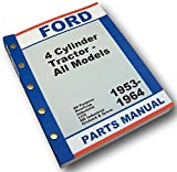 Ford Naa 600 601 700 701 800 801 900 901 Tractor Master Parts Manual Catalog