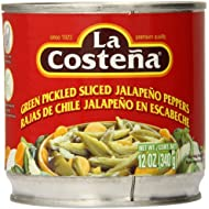 La Costena Sliced Jalapeno, 12 Ounce (Pack of 12)