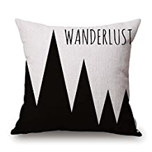 Geometric Cushion Covers 20 X 20 Inches / 50 By 50 Cm Gift Or Decor For Saloon Home Lounge Monther Festival Play Room - Twin Sides