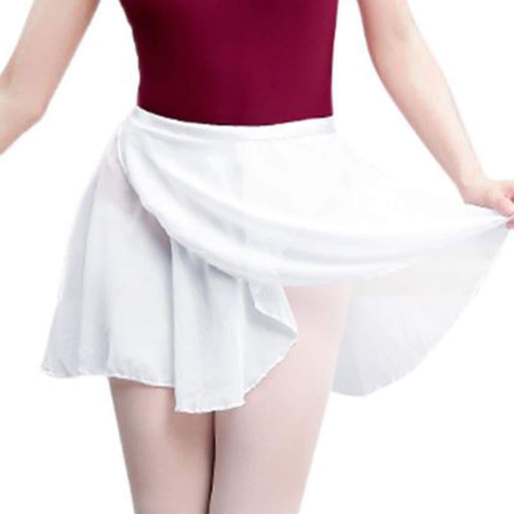 Popular Kids Girl Chiffon Ballet Tutu Dance Skirt Skate Wrap Scarf 5Color Skirt