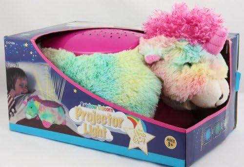 Unicornio del arco iris del proyector ligero de la noche mimoso ...