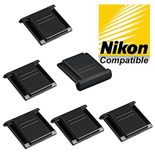 6-pieces-hot-shoe-cover-protector-replaces-nikon-bs-1-fits-all-nikon-slr-and-dslr-cameras