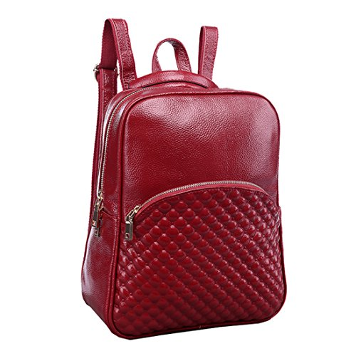 Missmay-2015-Spring-Womens-Soft-Genuine-Leather-Purse-Backpack-Cowskin-Casual-Sports-Smooth