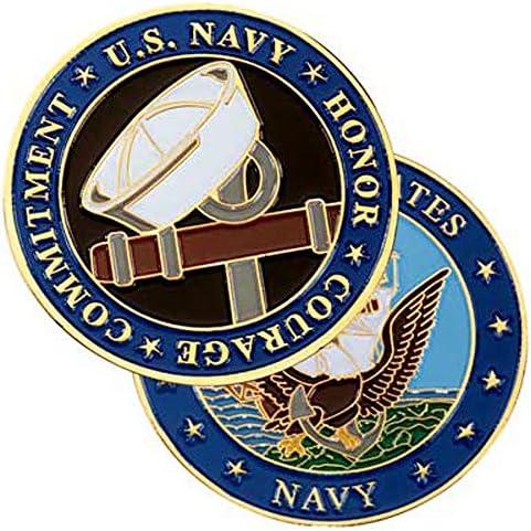 [해외]메달 오브 아메리카 해군 딕시 컵 챌린지 코인 블루 / 메달 오브 아메리카 해군 딕시 컵 챌린지 코인 블루