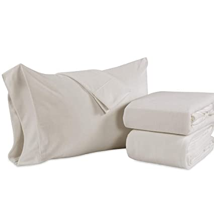 Berkshire Blanket Original Microfleece Set Fleece Sheets, Twin, Cream best twin-sized fleece sheets