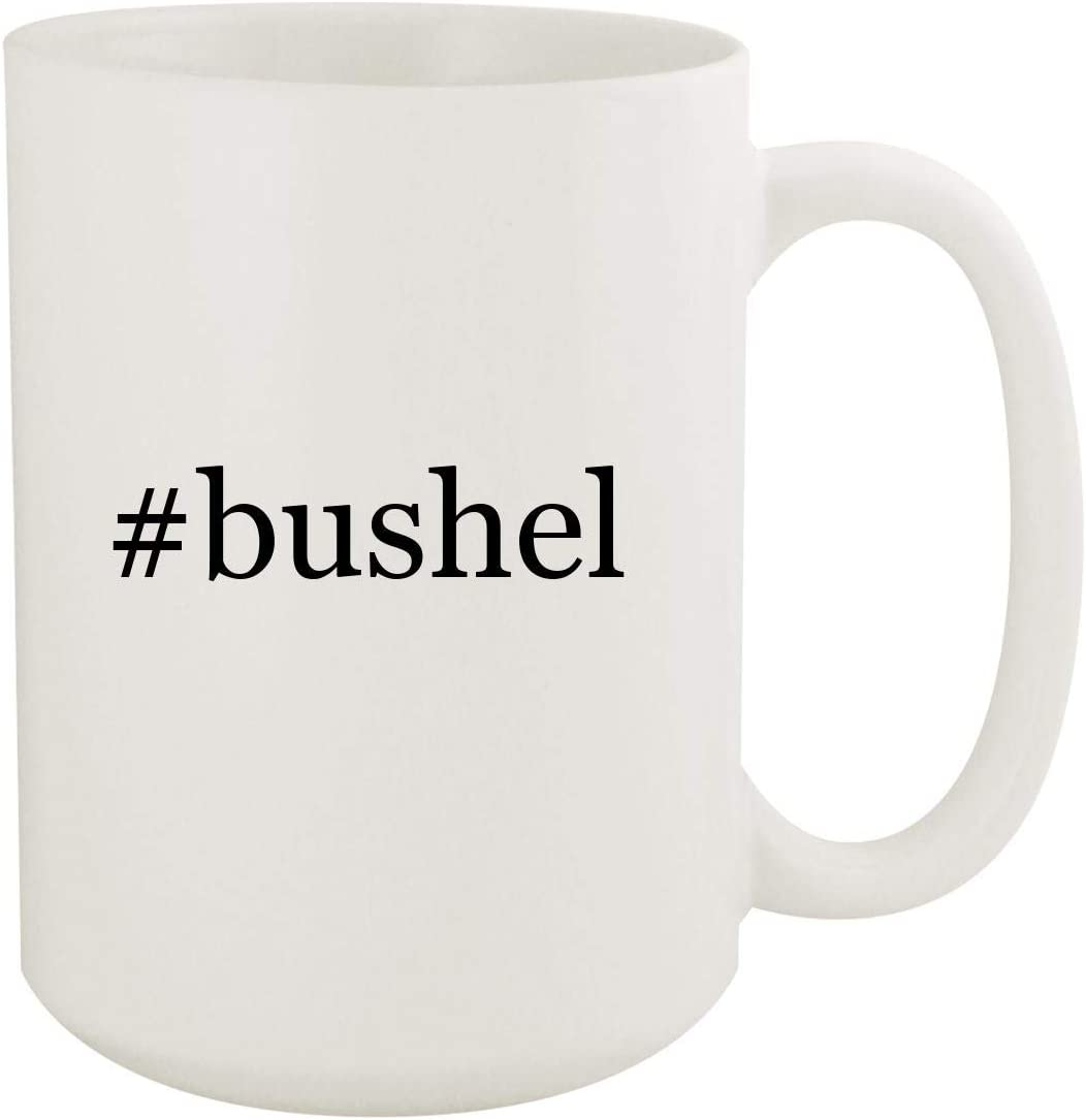 #bushel - 15oz Hashtag White Ceramic Coffee Mug