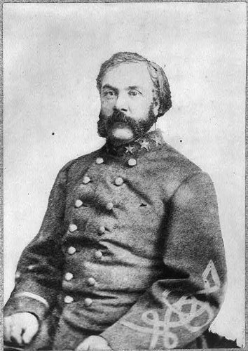 Photo: General William Miller, CSA, Confederate States Army, American Civil War, Military
