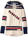 new york rangers vintage hoodie - NHL New York Rangers Women's Vintage Lacer Heavyweight Hoodie, XX-Large, Stone