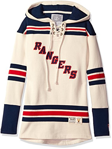 Ny Rangers Classic Shirt (NHL New York Rangers Women's Vintage Lacer Heavyweight Hoodie, X-Large,)
