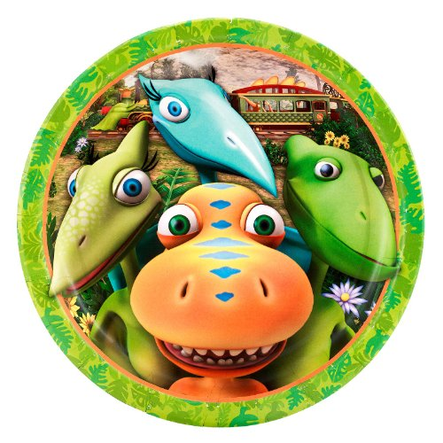 Dinosaur Train - Dinner Plates (8) Party (Dinosaur Train Halloween)