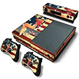 GoldenDeal Xbox One Console and Wireless Controller Skin Set - USA Flag US AirForce - XboxOne Vinyl