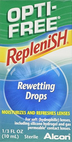 Opti-Free Replenish Rewetting Drops, 3 Count